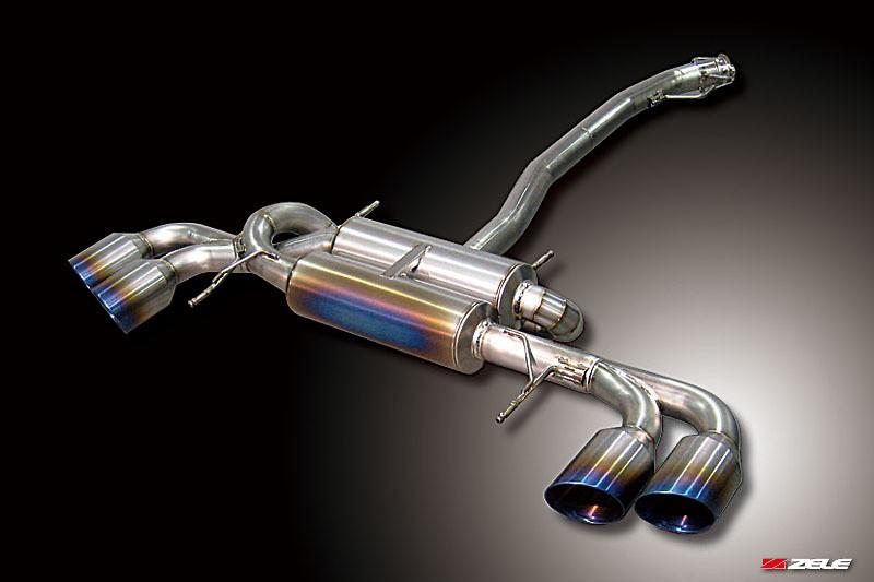 Nissan GTR-R35 - FZ-Titanium Muffler