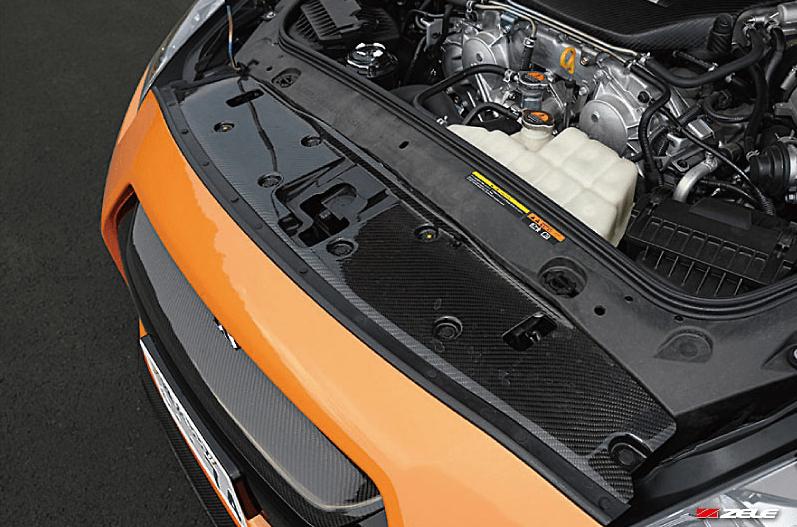 Zele Performance - Carbon Fibre Radiator Shroud