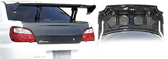 Varis - Light Weight Carbon Trunk - STI
