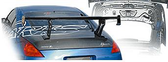 Varis - Light Weight Carbon Trunk - 350Z