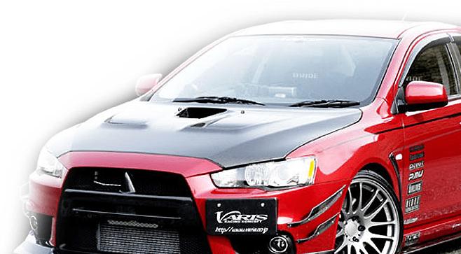 Varis - Cooling Bonnet - EVO X
