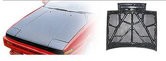 Varis - Light Weight Carbon Bonnet - AE86