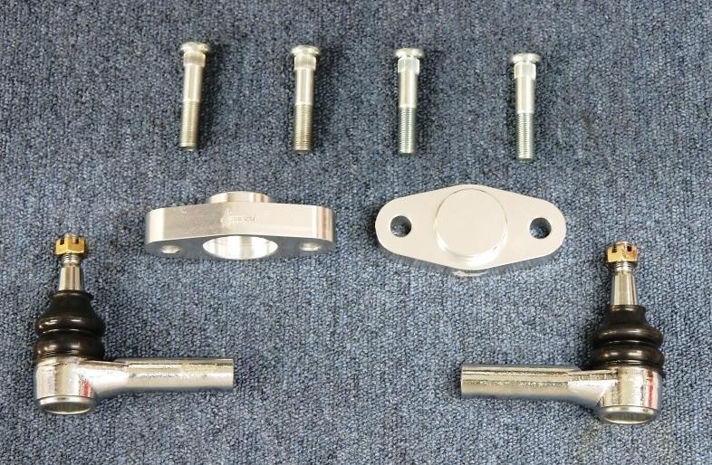 Roll Center Adapter & Long Tie Rod End Set - KSN315