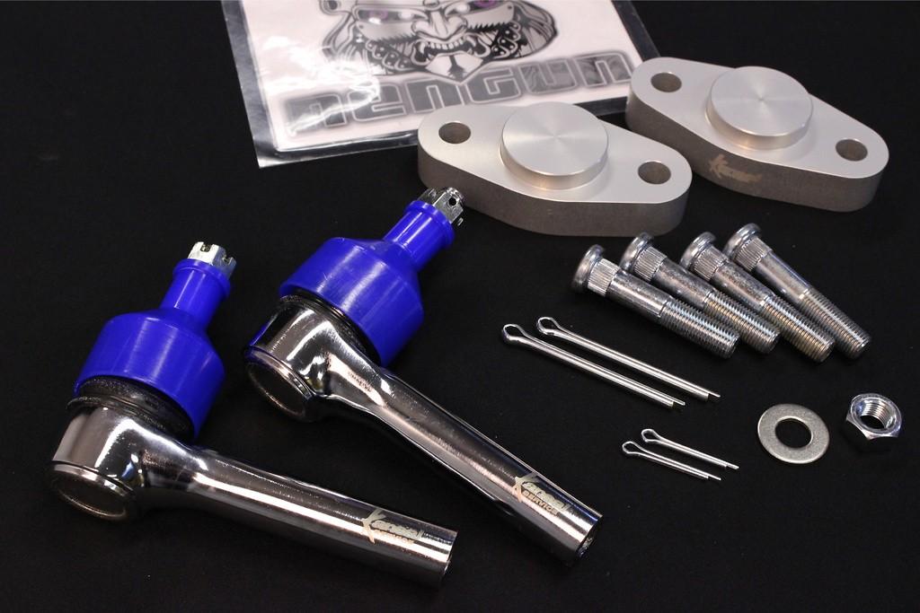 Roll Center Adapter & Long Tie Rod End Set - KSN312
