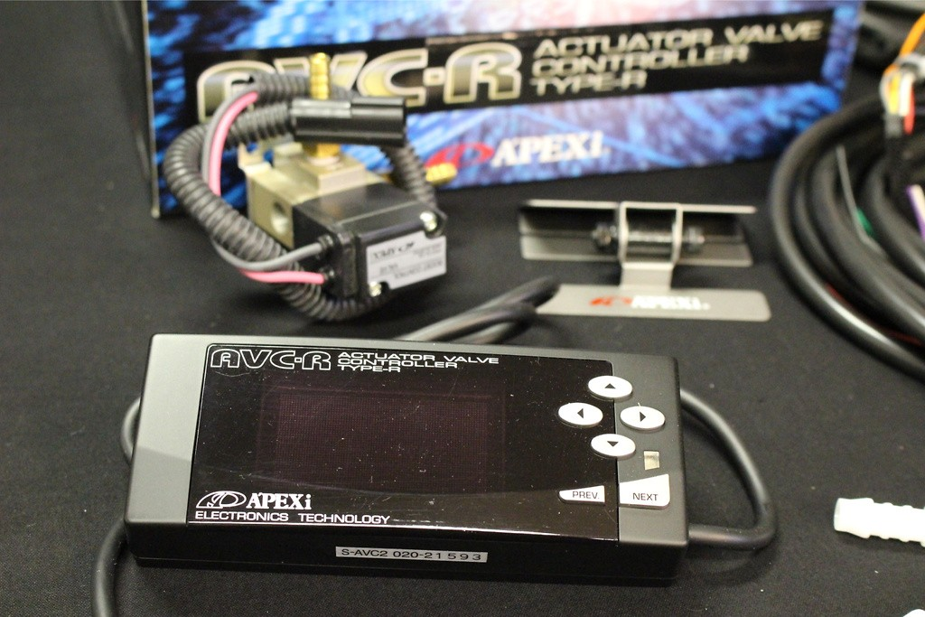 Apexi AVC R Black Limited edition (Universal) - 420-A005