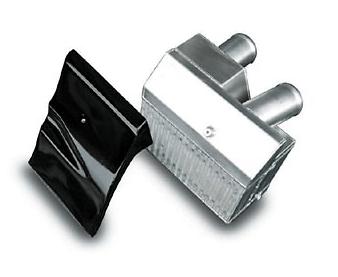 Knight Sports - Super U Type II - Twin-Core Intercooler