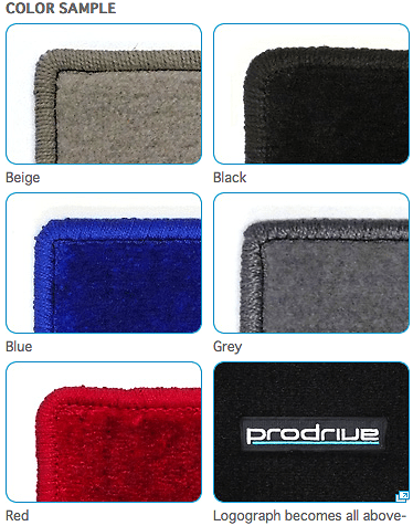 Prodrive Floor Mat - Colours