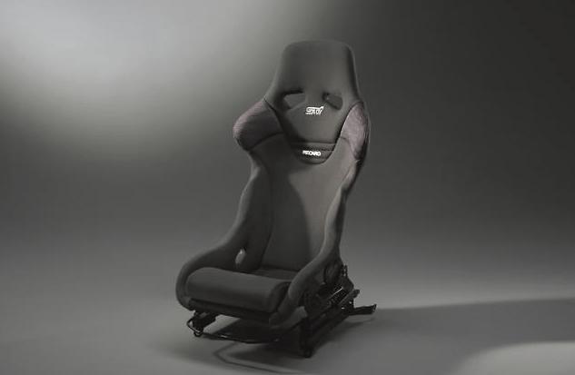 STI - Full Bucket Seat - Recaro - Black