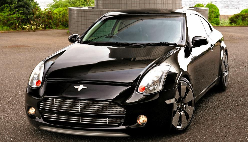 DAMD - Black Metal Bodykit - Nissan Skyline V35