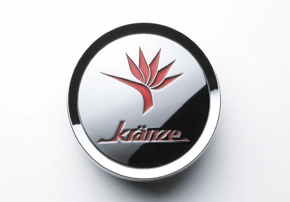 """Kranze BAZREIA - 18""""~20"""" (3 piece wheel) - Colour: Chrome & Red Logo - Quantity: 4 - 52576"""