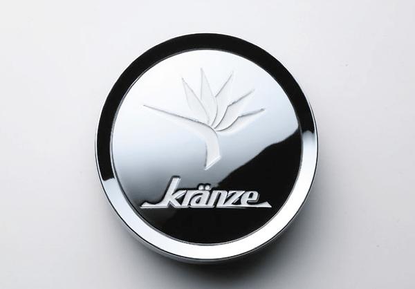 """Kranze BAZREIA - 18""""~20"""" (3 piece wheel) - Colour: Chrome & White Logo - 52575"""