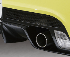 TM Square Rear Bumper Spoiler - FRP only