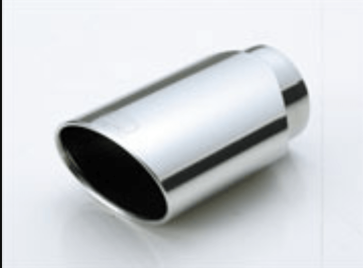 Oval Tail - Material: Stainless Steel - Diameter: 80mm - Length: 180mm - TL.OV303
