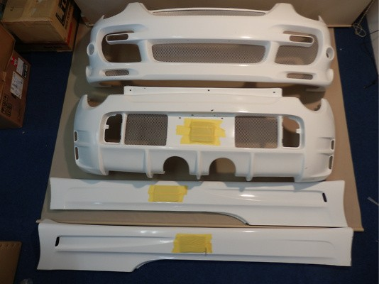 Front Bumper, Side Skirt and Rear Bumper Kit - 3 Piece Kit