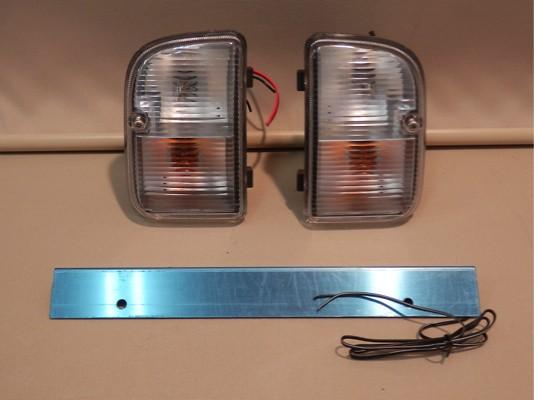 Rear Bumper Blinker and Number Light Set - Blinker and Number Light Set