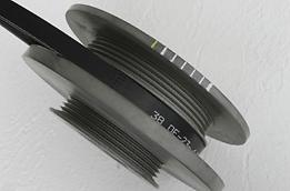Garage Saurus - Solid Crank Pulley