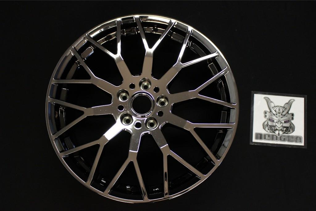 """Colour: Black Metal Coat - Size: 19"""" - Width: 8.0J - Hole: 5H-114.3 - Offset: +58 - 42700-XJ5-980C-58"""