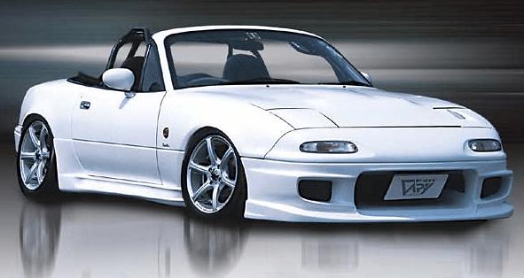 Garage Vary Mazda Roadster Na Front Lip Side Spoiler
