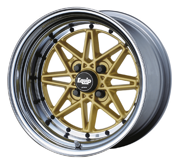 Work Wheels - Equip 03 - 15inch Gold