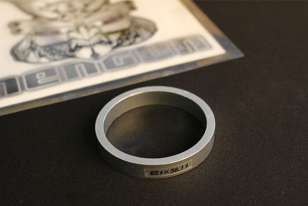 Outer Diameter: 65mm - Inner Diameter: 56.1mm - Quantity: 1 - TYPE E