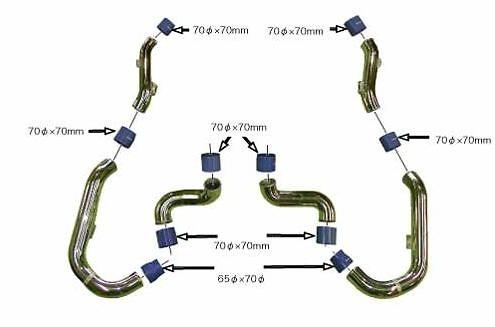 Optional Piping kit Part No 102020942