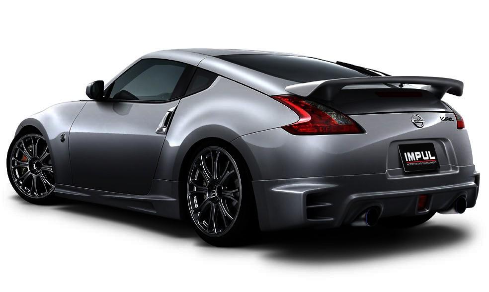 Full Kit: Front Bumper + Side Steps + Rear Half Spoiler + Rear Wing - Construction: FRP - Colour: Unpainted - IMPUL-934S-FK