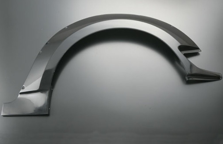 Rear Set - Left + Right - Material: FRP - Width: +40mm - JSWF-S1R