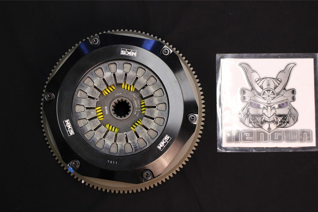 Type: Twin Plate - Operation: Pull Type - Flywheel: 6.9kg - 26011-AT002