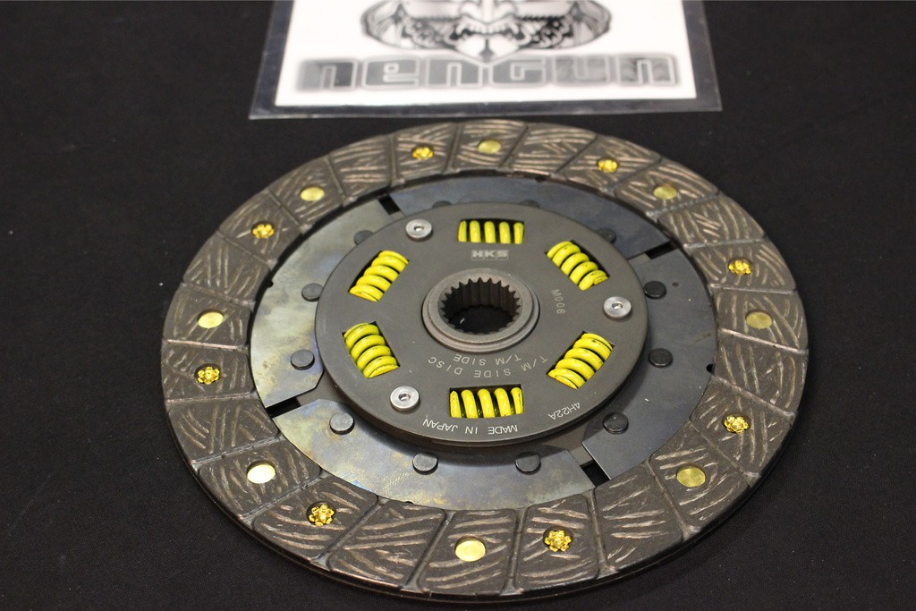 Replacement Clutch Disk for EVO IV~X - Flywheel Side - Type: Twin Plate - 26999-AM007