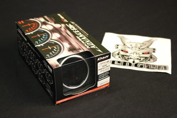 Type: Intake Manifold Pressure - Color: White - Diameter: 60mm - Range: -100 ~ +20kPa - DF10101