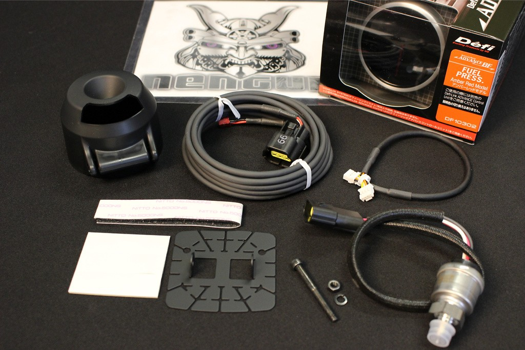 Type: Fuel Pressure - Color: Amber - Diameter: 60mm - Range: 0 ~ 600kPa - DF10302