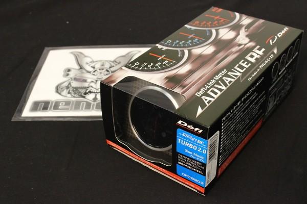Type: Turbo 200kPa - Color: Blue - Diameter: 60mm - Range: -100kPa ~ +200kPa - DF09903
