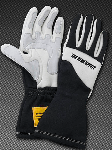 The Man Spirit Gloves - Black