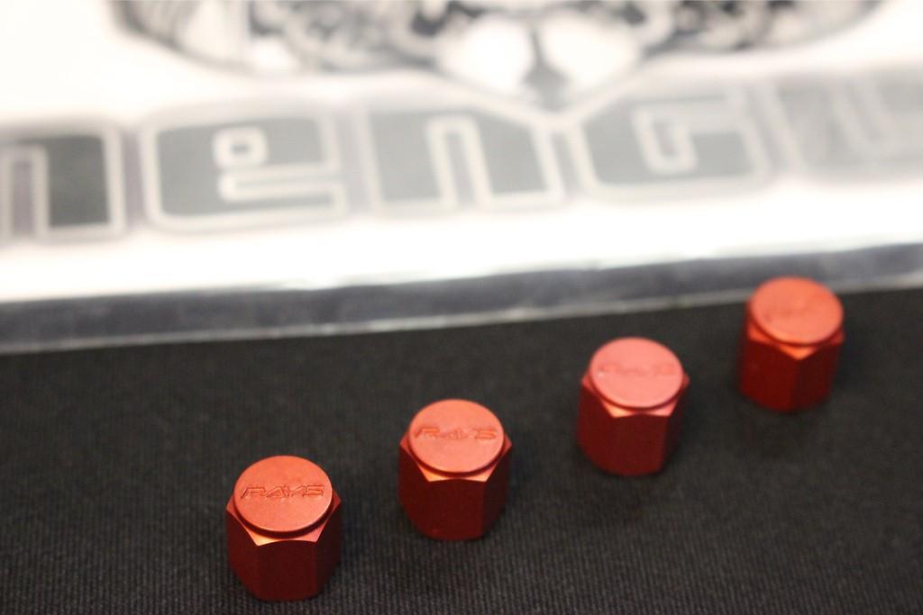 Colour: Red - Quantity: 4 - RVC-RD