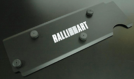 Ralliart - Engine Plug Cover - Black