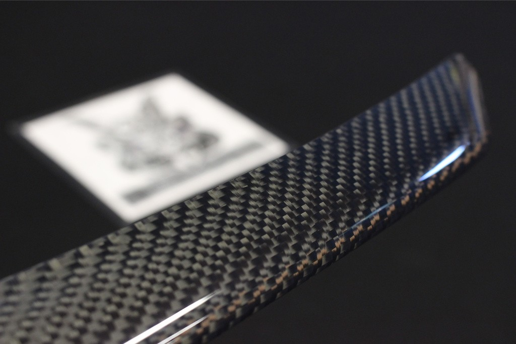 Material: Carbon Twill Weave - BNR32