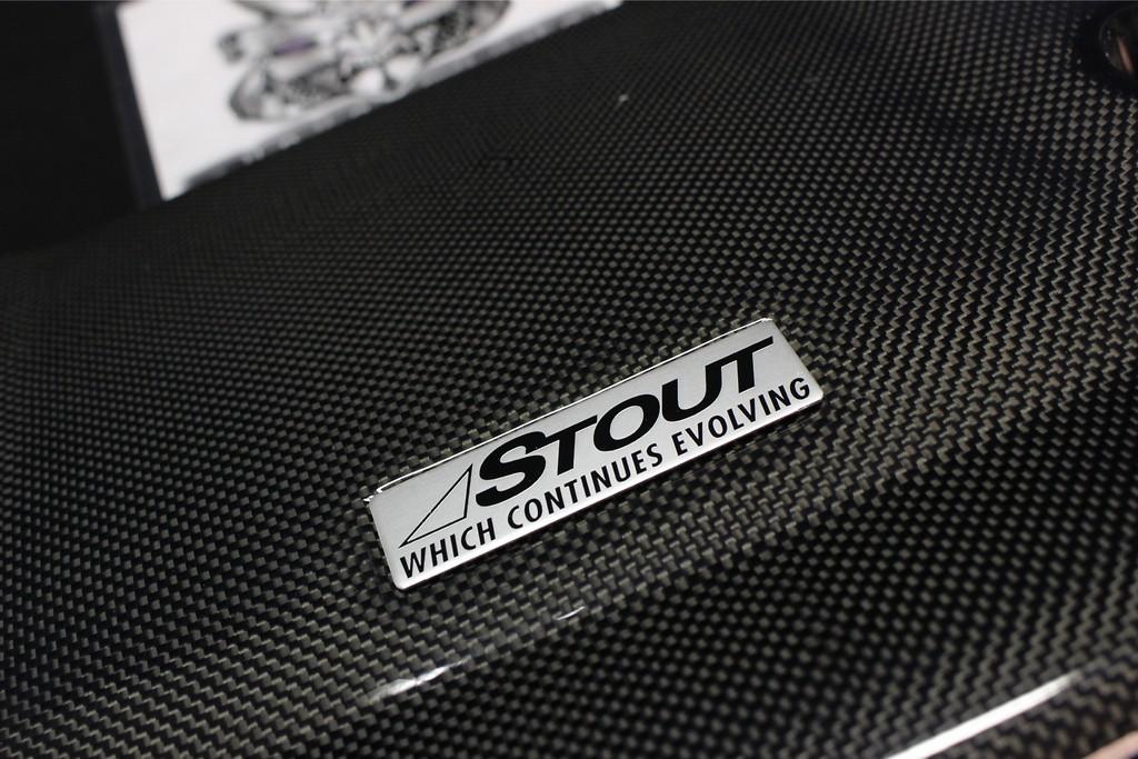 Stout - Carbon Engine Cover