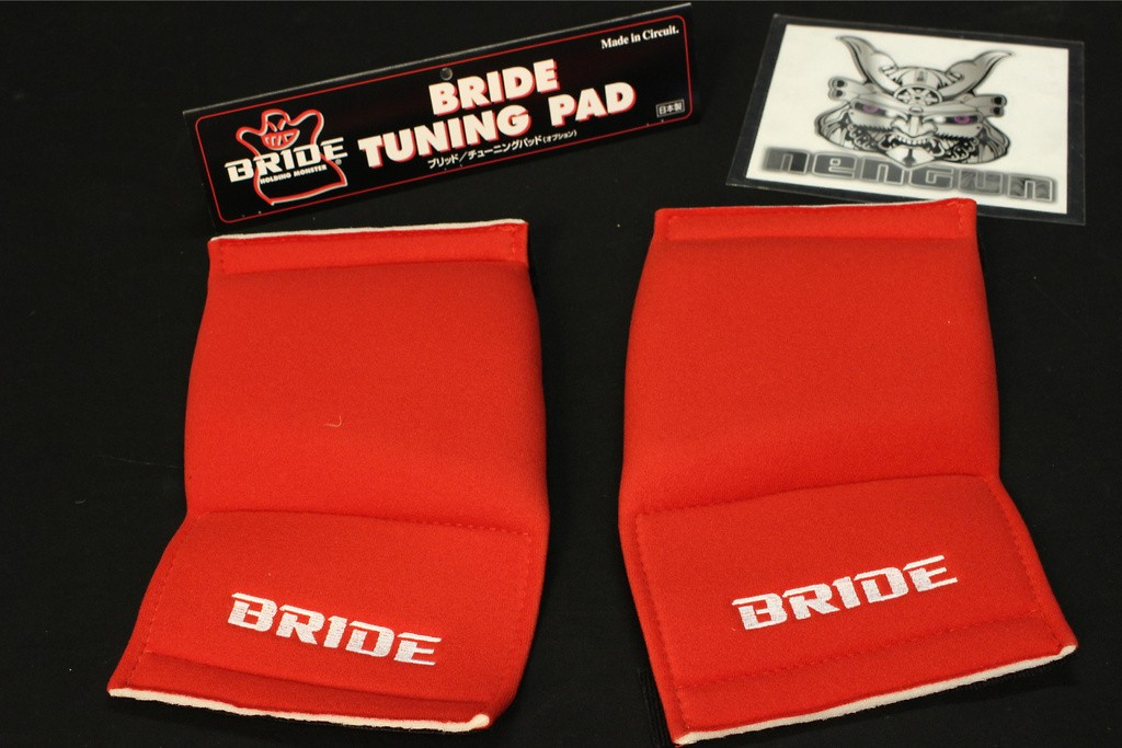 Side Support Pads - Red - Left and Right - K02BPO