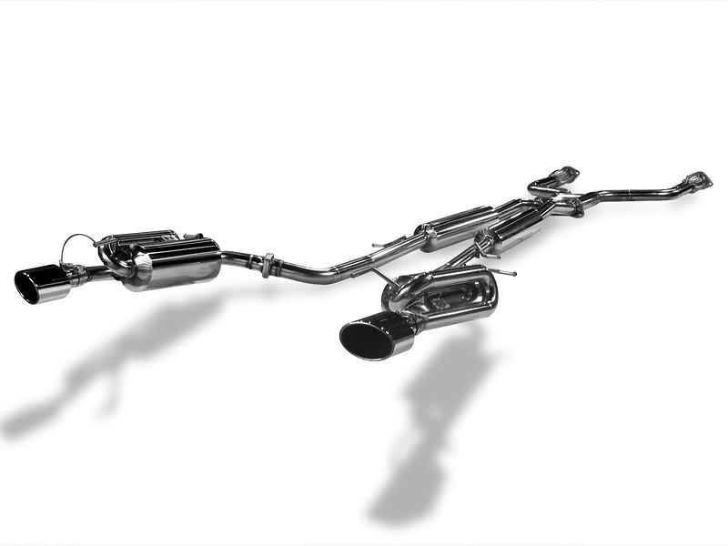 Suruga Speed - PFS Bride Loop Mufflers - Y51 Fuga