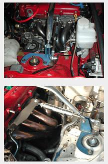 Tuckin 99 - Engine Torque Damper - Roadster - NA/NB6 NA/NB8