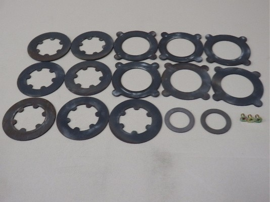 Disc Kit 12kgf/m - 38420-RS650/660 - LSD: R200 Type - 3843S-RS651
