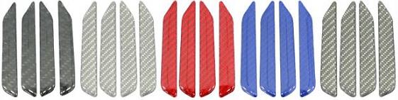 Hasepro - Carbon Fibre Pillar Set - Colours