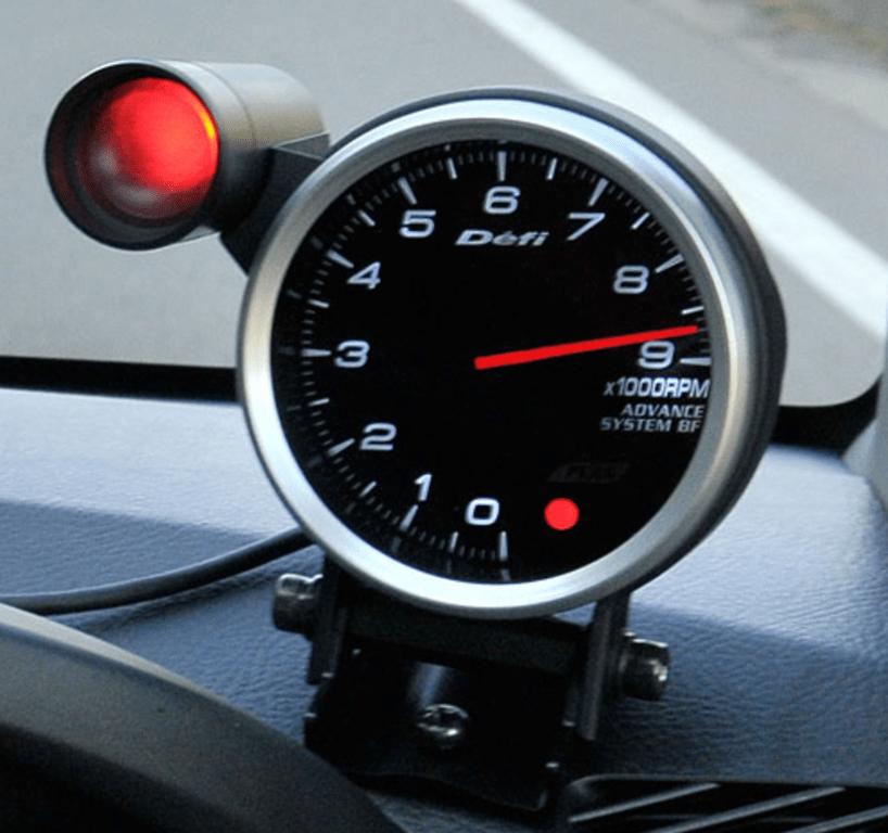 80mm Tachometer Shift Indicator - Green & Red - PDF07108I