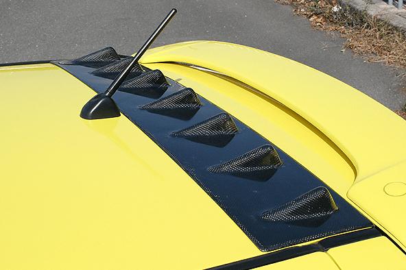 ChargeSpeed - Bumper Type - Suzuki Swift - Roof Fin