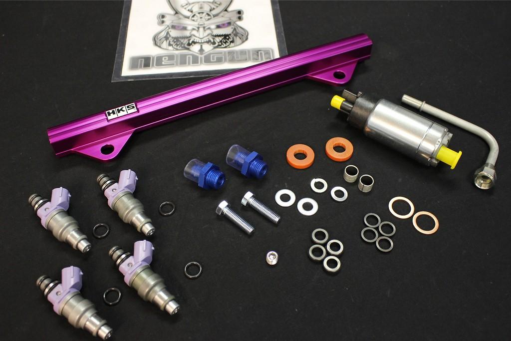 Pump: 260 L/H - Injectors: 800cc - 14007-AM006