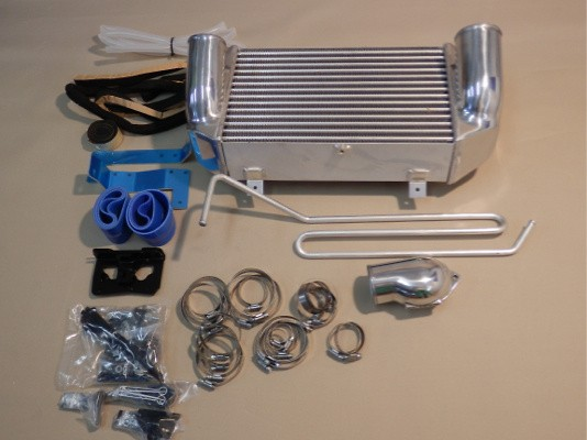 Full Kit with Intercooler & Radiator - Height: 266 - Length: 400 - Thickness: 100 - 12040702