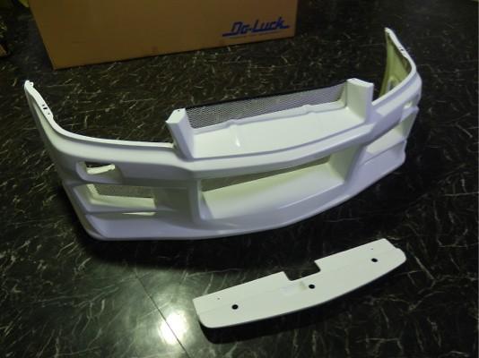 Construction: FRP - Colour: Unpainted - Front Bumper Spoiler