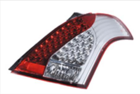 Valenti - Jewel Tail Lamp - Half Red/Chrome