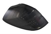 Valenti - Jewel Tail Lamp - Light Smoke/Black Chrome - Subaru Legacy Wagon
