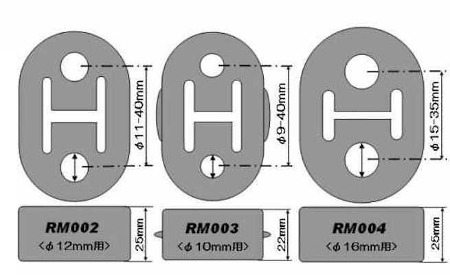 Alpha Motorsports - Rigid - Muffler Ring